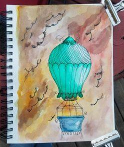 Doodlewash Balloon