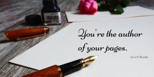 You're the author of your pages.